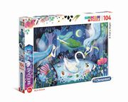 ksiazka tytuł: Puzzle Supercolor Brilliant A Fairy Night 104 autor: