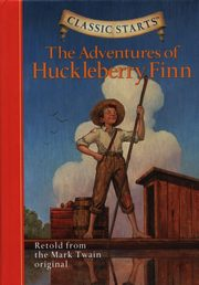 ksiazka tytuł: The Adventures of Huckleberry Finn autor: Twain Mark