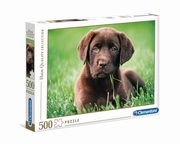 ksiazka tytuł: Puzzle 500 High Quality Collection Chocolate Puppy autor: