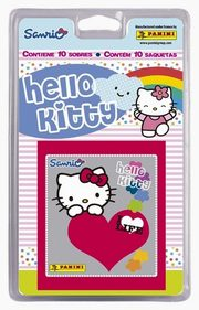Blister z naklejkami Hello Kitty,