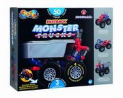 ksiazka tytuł: Zoob Mobile Fastback Monster Trucks autor: