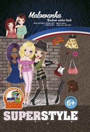 Malowanka Fashion sticker book,