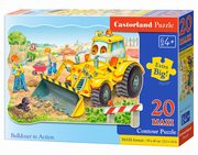 Puzzle Maxi Konturowe: Bulldozer in Action 20,