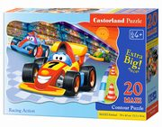 Puzzle Maxi Konturowe: Racing Action 20,
