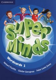 Super Minds Wordcards 1, Puchta Herbert, Gerngross Gunther, Lewis-Jones Peter