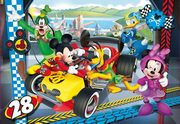 Puzzle Supercolor Mickey Roadster Race 104,