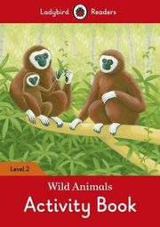 Wild Animals Activity Book Level 2,