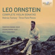 Ornstein: Complete Music For Violin,