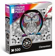 Puzzle 500 Colour Therapy Sowa,