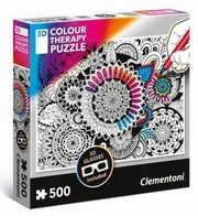Puzzle 3D Colour Therapy Kwiaty,