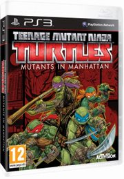 Teenage Mutant Ninja Turtless Mutants in Manhattan PS3,