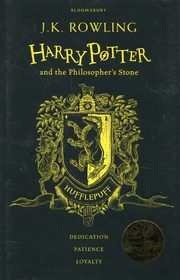 Harry Potter and the Philosopher`s Stone Hufflepuff, Rowling J.K.