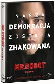 Mr Robot. Sezon 1 (box 4DVD),