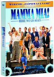Mamma Mia Here We Go Again DVD+booklet, Meryl Streep, Lily James, Pierce Brosnan