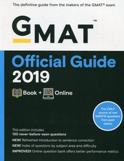 GMAT Official Guide 2019 Book + Online,