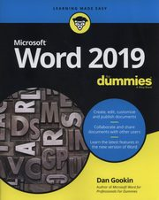 Word 2019 For Dummies, Gookin Dan