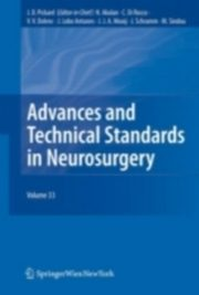ksiazka tytuł: Advances and Technical Standards in Neurosurgery autor: