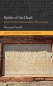 ksiazka tytuł: Spirits of the Dead Roman Funerary Commemoration in Western Europe autor: CARROLL MAUREEN