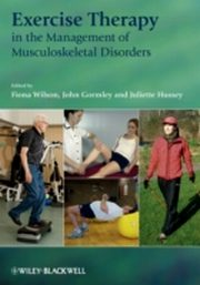 ksiazka tytuł: Exercise Therapy in the Management of Musculoskeletal Disorders autor: