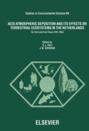 ksiazka tytuł: Acid Atmospheric Deposition and its Effects on Terrestrial Ecosystems in The Netherlands autor: