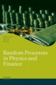 ksiazka tytuł: Random Processes in Physics and Finance autor: LAX MELVIN