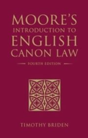 ksiazka tytuł: Moore's Introduction to English Canon Law autor: