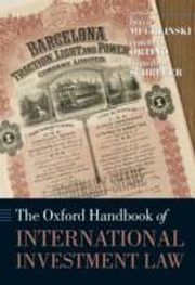 ksiazka tytuł: Oxford Handbook of International Investment Law autor: