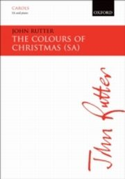 ksiazka tytuł: Colours of Christmas: SA vocal score autor: John Rutter