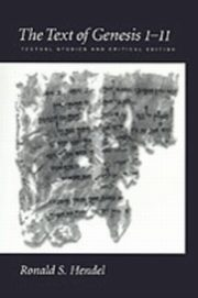 ksiazka tytuł: Text of Genesis 1-11 Textual Studies and Critical Edition autor: HENDEL RONALD S