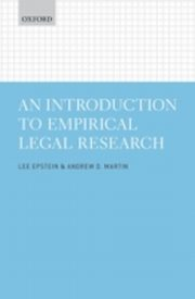 ksiazka tytuł: Introduction to Empirical Legal Research autor: Lee Epstein, Andrew D. Martin
