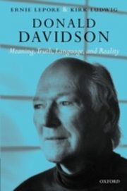 ksiazka tytuł: Donald Davidson Meaning, Truth, Language, and Reality autor: LUDWIG ERNIE LEPORE