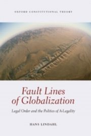 ksiazka tytuł: Fault Lines of Globalization: Legal Order and the Politics of A-Legality autor: Hans Lindahl