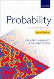 ksiazka tytuł: Probability: An Introduction autor: Geoffrey Grimmett, Dominic Welsh