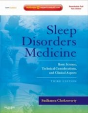 ksiazka tytuł: Sleep Disorders Medicine autor: Sudhansu Chokroverty