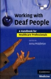 ksiazka tytuł: Working with Deaf People autor: Middleton