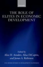 ksiazka tytuł: Role of Elites in Economic Development autor: