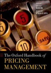 ksiazka tytuł: Oxford Handbook of Pricing Management autor: