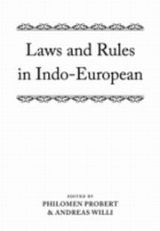 ksiazka tytuł: Laws and Rules in Indo-European autor: