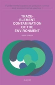 ksiazka tytuł: Trace Element Contamination of the Environment autor: