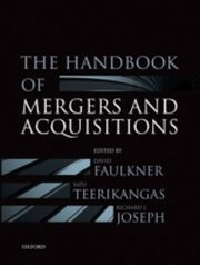 ksiazka tytuł: Handbook of Mergers and Acquisitions autor: