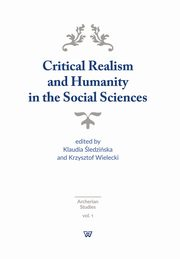 Critical Realism and Humanity in the Social Sciences,