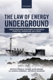 ksiazka tytuł: Law of Energy Underground: Understanding New Developments in Subsurface Production, Transmission, and Storage autor: