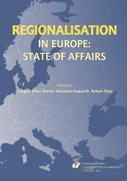 Regionalisation in Europe: The State of Affairs - 06 Regionalism and Multi-Level Governance of Rivers ? Administrative Affairs of the Danube,