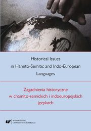 Historical Issues in Hamito-Semitic and Indo-European languages. Zagadnienia historyczne w chamito-semickich i indoeuropejskich językach - 01 Celtic influence and genitive resumptives,