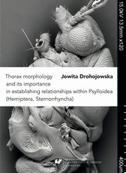 Thorax morphology and its importance in establishing relationships within Psylloidea (Hemiptera, Sternorrhyncha) - 02 Rozdz. 3-6. Relationships within psyllids; Discussion; Conclusion; Key for the determination of subfamilies of psyllids...; References, Jowita Drohojowska