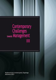 Contemporary Challenges towards Management III - 11 The use of Teamcenter PLM software in managing student projects,