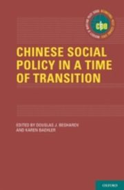 ksiazka tytuł: Chinese Social Policy in a Time of Transition autor:
